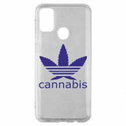 Чохол для Samsung M30s Cannabis