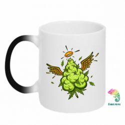 Кружка-хамелеон Cannabis