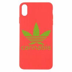 Чохол для iPhone X/Xs Cannabis