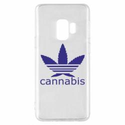 Чохол для Samsung S9 Cannabis