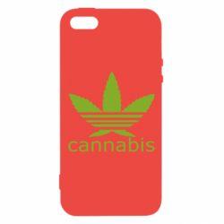 Чохол для iphone 5/5S/SE Cannabis
