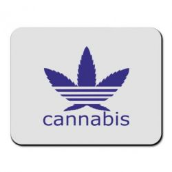 Килимок для миші Cannabis