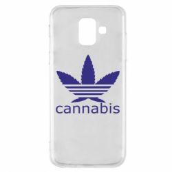 Чохол для Samsung A6 2018 Cannabis