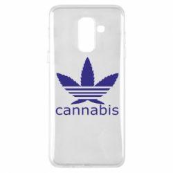 Чохол для Samsung A6+ 2018 Cannabis