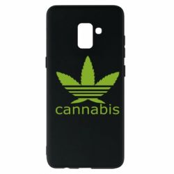 Чохол для Samsung A8+ 2018 Cannabis
