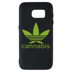 Чохол для Samsung S7 Cannabis