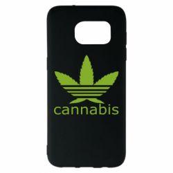 Чохол для Samsung S7 EDGE Cannabis