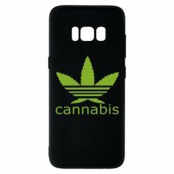 Чохол для Samsung S8 Cannabis