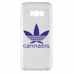 Чохол для Samsung S8+ Cannabis
