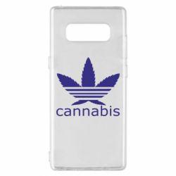 Чохол для Samsung Note 8 Cannabis