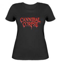 Женская футболка Cannibal Corpse - FatLine
