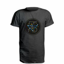 Удлиненная футболка Capricorn constellation