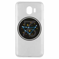 Чехол для Samsung J4 Capricorn constellation