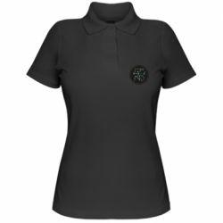 Женская футболка поло Capricorn constellation