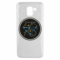 Чехол для Samsung J6 Capricorn constellation