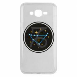 Чехол для Samsung J7 2015 Capricorn constellation