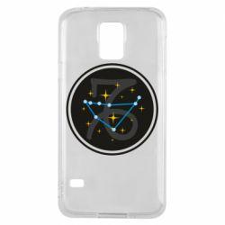 Чехол для Samsung S5 Capricorn constellation