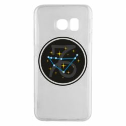 Чехол для Samsung S6 EDGE Capricorn constellation
