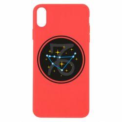 Чехол для iPhone Xs Max Capricorn constellation