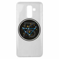 Чехол для Samsung J8 2018 Capricorn constellation
