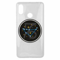 Чехол для Xiaomi Mi Max 3 Capricorn constellation