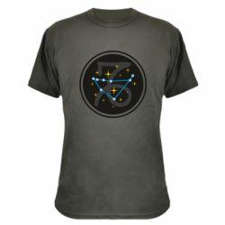 Камуфляжная футболка Capricorn constellation