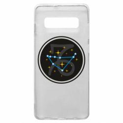 Чехол для Samsung S10+ Capricorn constellation