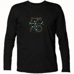 Футболка с длинным рукавом Capricorn constellation
