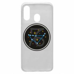 Чехол для Samsung A40 Capricorn constellation