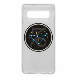 Чехол для Samsung S10 Capricorn constellation