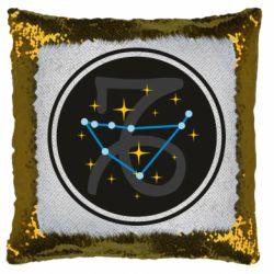 Подушка-хамелеон Capricorn constellation
