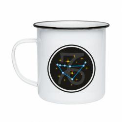 Кружка эмалированная Capricorn constellation