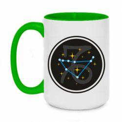 Кружка двухцветная 420ml Capricorn constellation