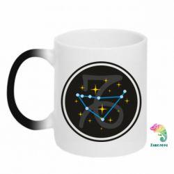Кружка-хамелеон Capricorn constellation