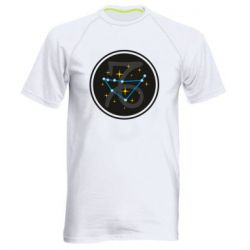 Мужская спортивная футболка Capricorn constellation