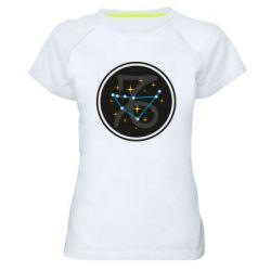 Женская спортивная футболка Capricorn constellation