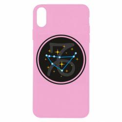 Чехол для iPhone X/Xs Capricorn constellation