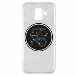 Чехол для Samsung A6 2018 Capricorn constellation