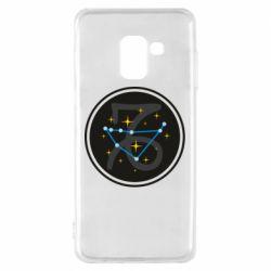 Чехол для Samsung A8 2018 Capricorn constellation
