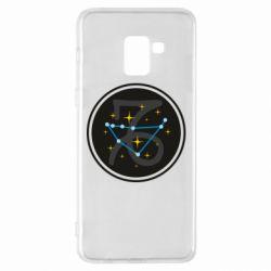 Чехол для Samsung A8+ 2018 Capricorn constellation