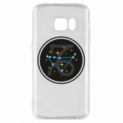 Чехол для Samsung S7 Capricorn constellation