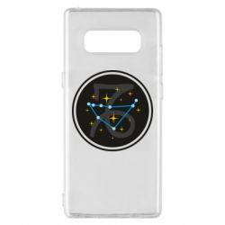 Чехол для Samsung Note 8 Capricorn constellation