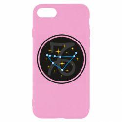 Чехол для iPhone 8 Capricorn constellation