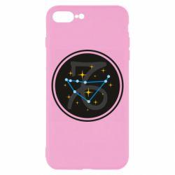 Чехол для iPhone 8 Plus Capricorn constellation