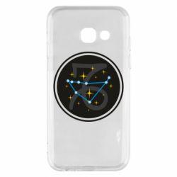 Чехол для Samsung A3 2017 Capricorn constellation