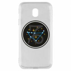 Чехол для Samsung J3 2017 Capricorn constellation