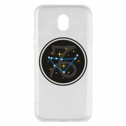 Чехол для Samsung J5 2017 Capricorn constellation