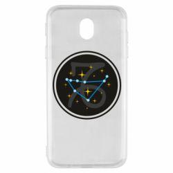 Чехол для Samsung J7 2017 Capricorn constellation