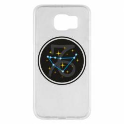 Чехол для Samsung S6 Capricorn constellation