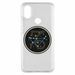 Чехол для Xiaomi Mi A2 Capricorn constellation